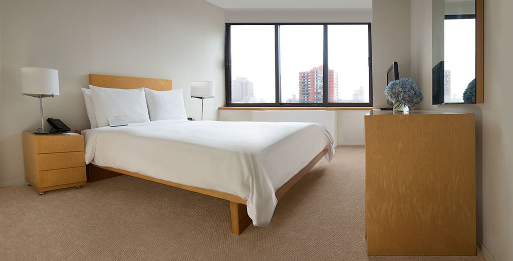 Te alojarás en una Suite de 1 dormitorio en The Marmara Manhattan