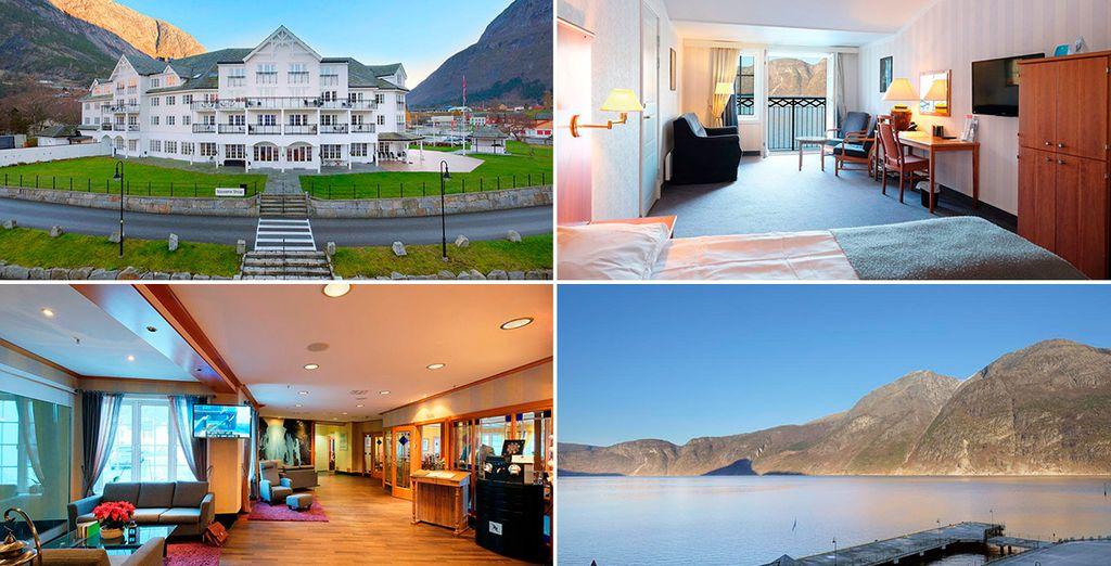 Hardanger (Eidfjord), te alojarás en en el Quality Hotel & Resort Voringfoss