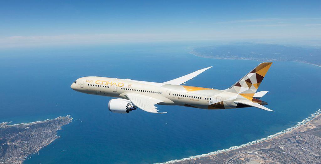 Etihad Airways vuela a más de 61 países cubriendo más de 340 destinos en todo el mundo