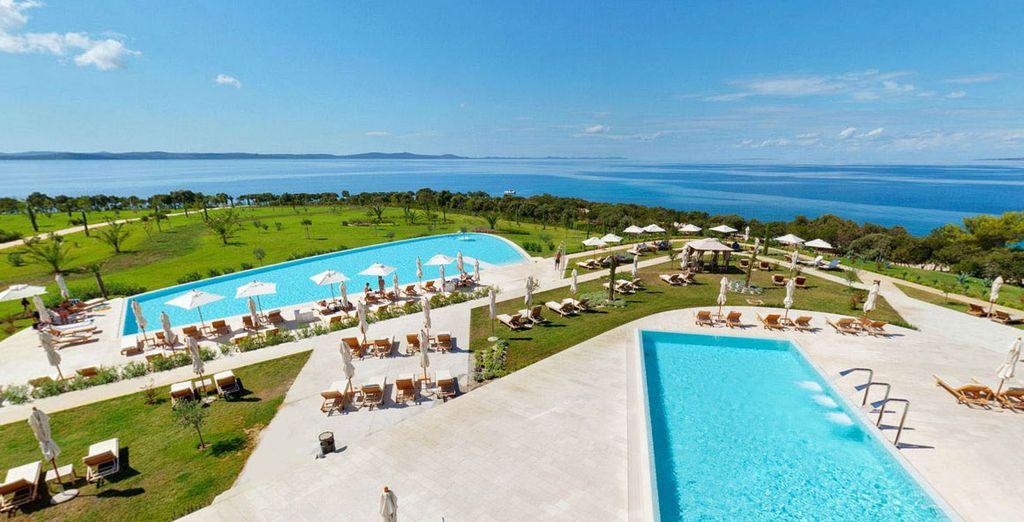 Falkensteiner Hotel & Spa Iadera 5*, a orillas del mar