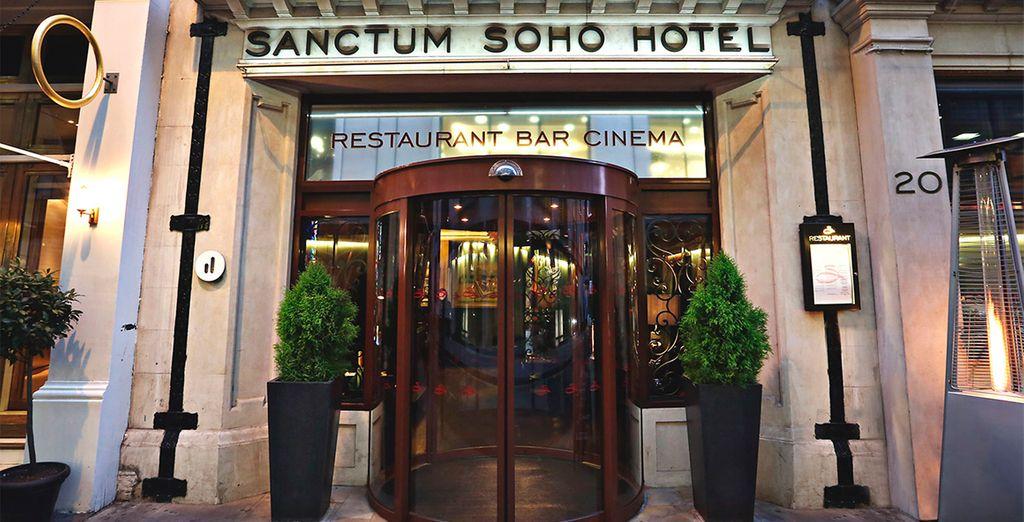 Bienvenido al Sanctum Soho Hotel en Londres