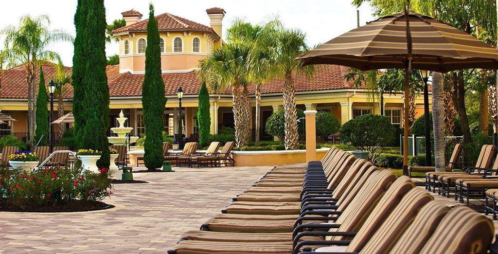 Su ubicación es ideal para poder aprovechar todo lo que el área de Orlando ofrece