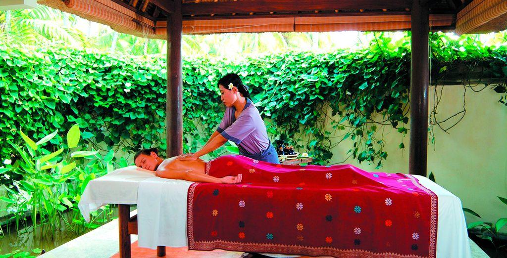 Relájese dándose un merecido masaje