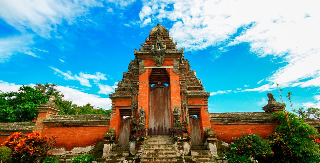 Templo Real de Mengwi de representativa belleza