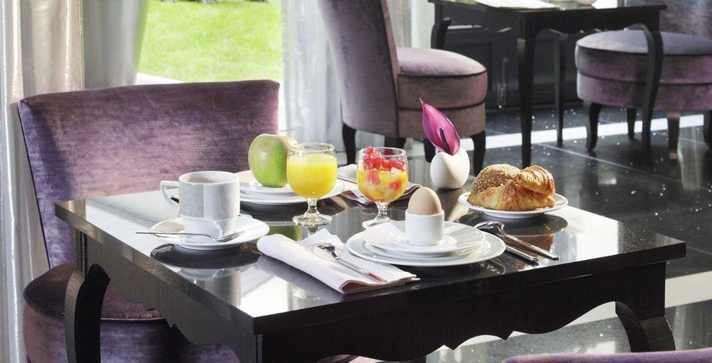 Empiece el día con energía con un completo desayuno