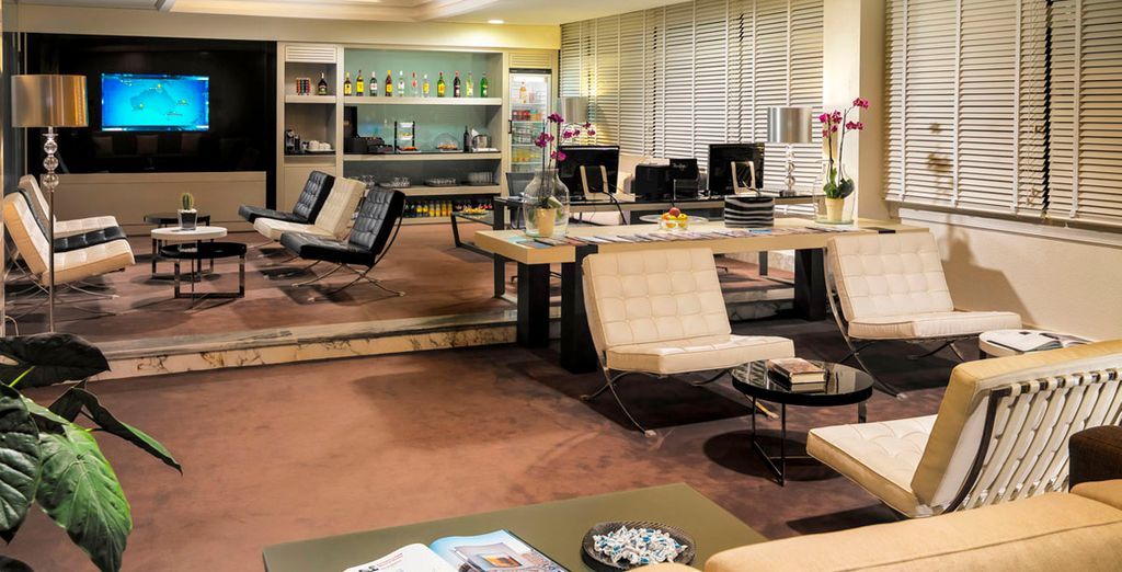 La sala privilege, un espacio de lujo
