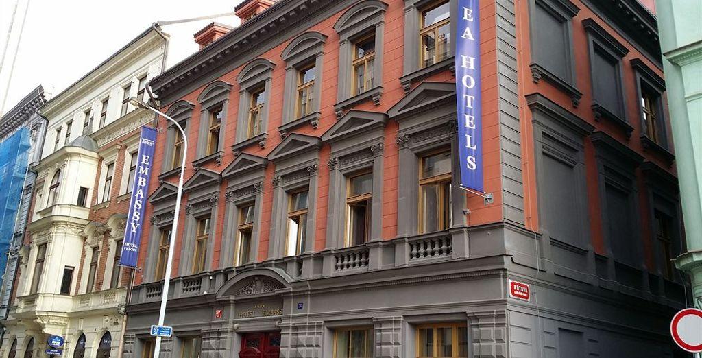 EA Embassy Prague Hotel 4*, Praga