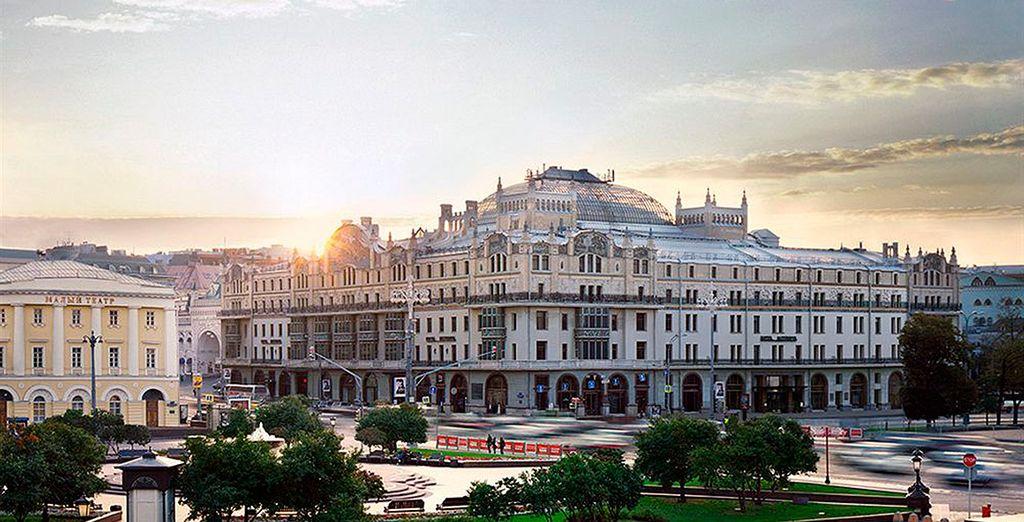 Podrá elegir alojarse en el exquisito Metropol Moscow 5*