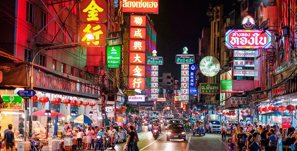 Pasea por Chinatown