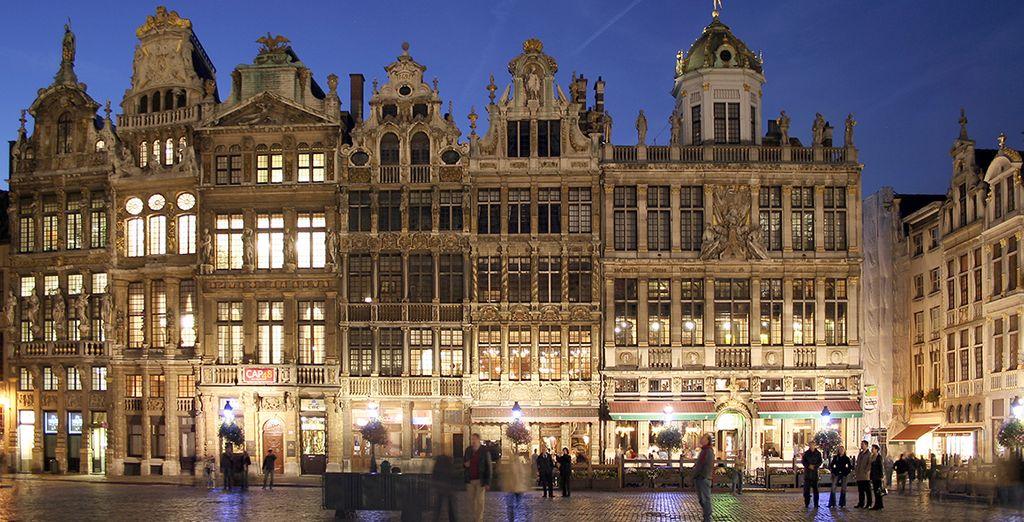 La Grand Place...