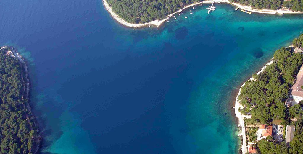 Découvrez les paysages croates...