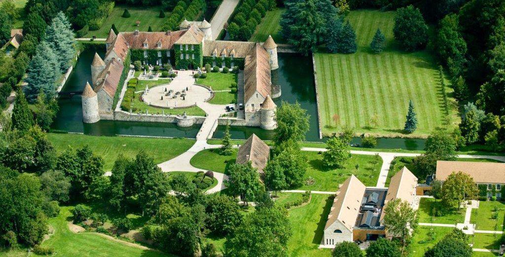 Bienvenue sur le site exceptionnel du Château de Villiers le Mahieu