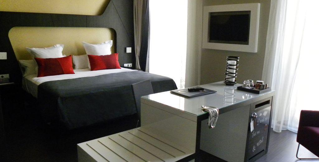 Profitez du confort de votre chambre avec terrasse
