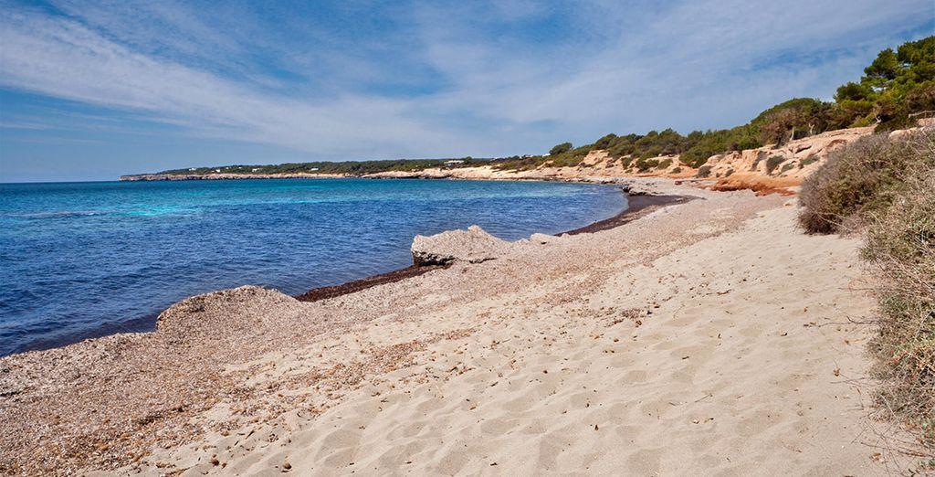 Et promenez-vous le long des plages de Formentera