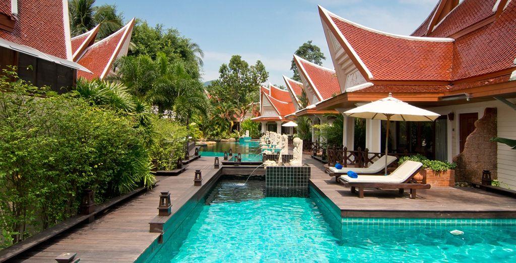 Plongez dans un décor typiquement thaï