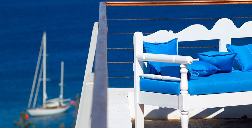 Et à goûter à la douceur de vivre de la Crète