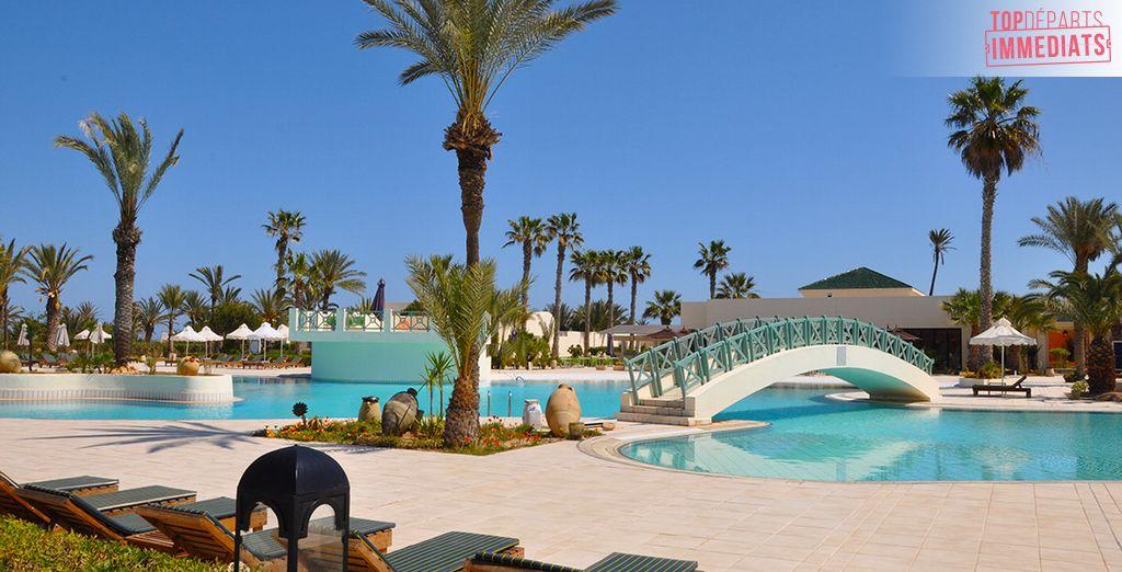Bienvenue au Yadis Djerba Golf Thalasso&Spa