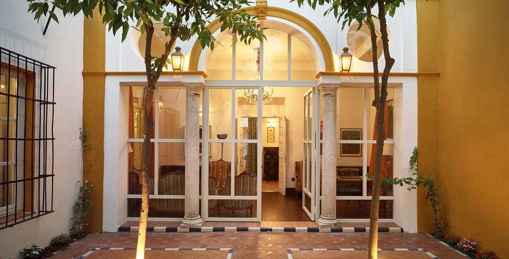 Avis boutique h tel casas de el arenal 4 voyage priv for Architecture andalouse