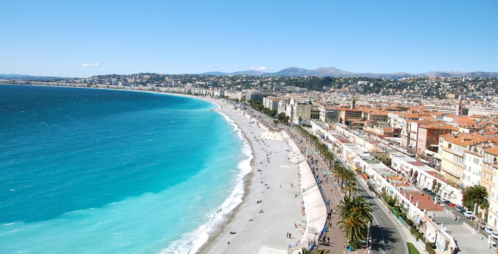 De la promenade des anglais à Nice...