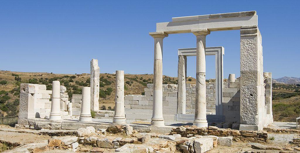 Découvrez les vestiges du temples de Déméter