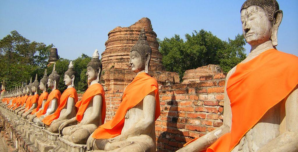 D'Ayutthaya et son parc historique...