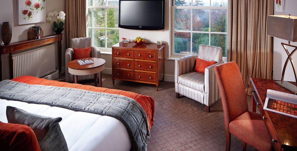 Vous séjournerez dans une chambre Luxury