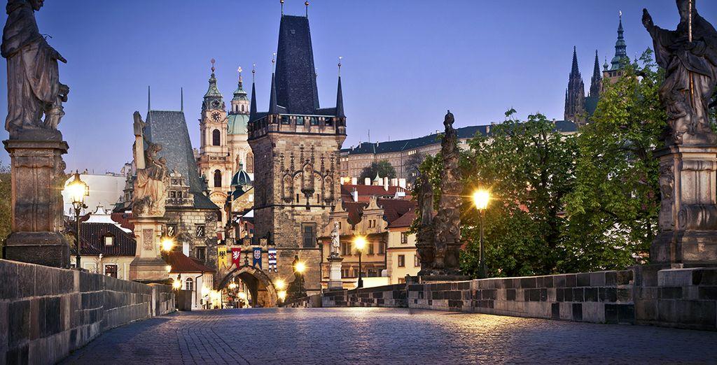 Une ville aux allures de contes de fées - Hôtel Plaza Alta 4* Prague