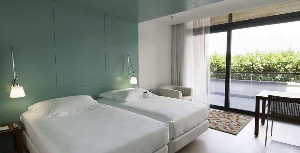 Entrez dans le confort de votre chambre
