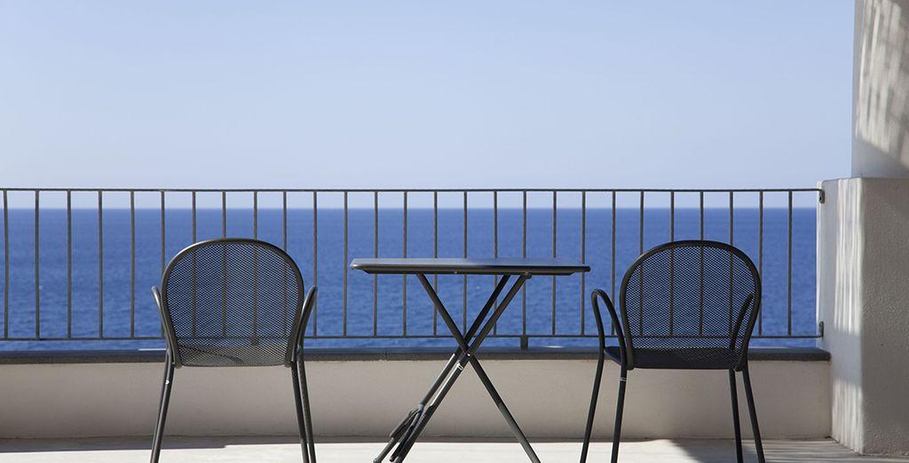 Avec terrasse privée