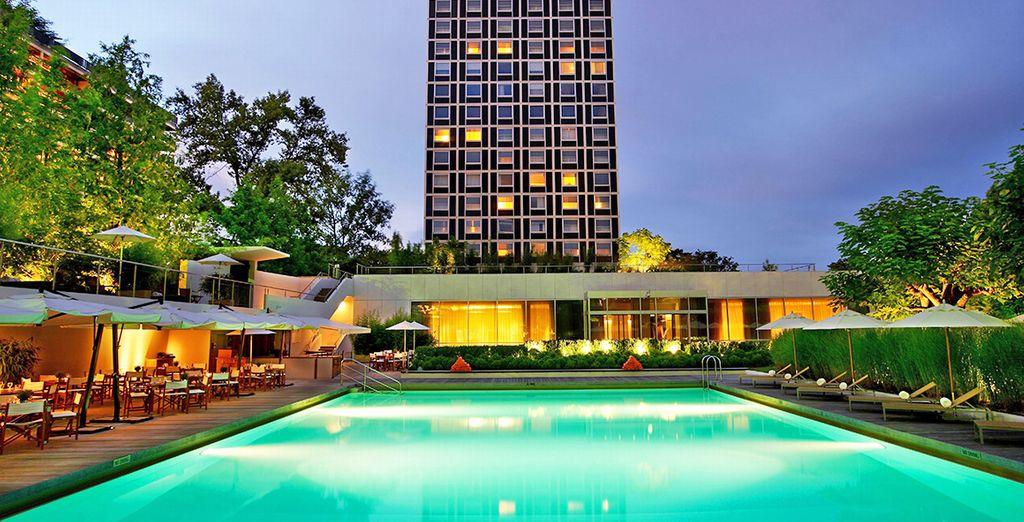 Le luxueux hôtel 5 * Intercontinental de Genève attend