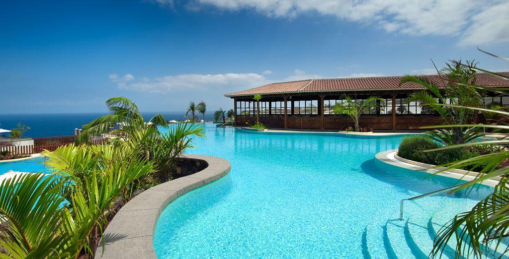 Bienvenue dans un cadre somptueux ouvert sur la mer - Hôtel Vincci Buenavista Golf & Spa 5* Tenerife