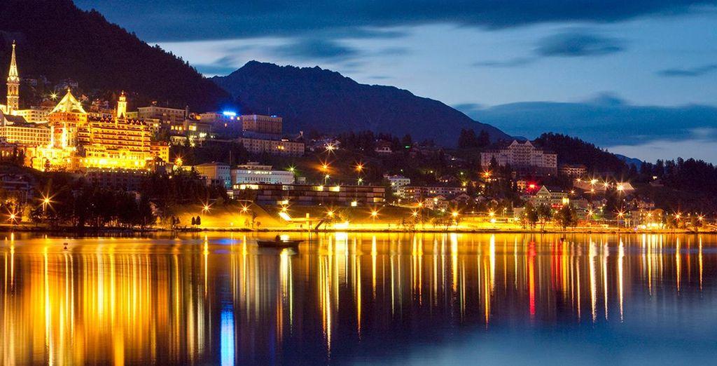 Vous tomberez sous le charme de St. Moritz, de jour comme de nuit
