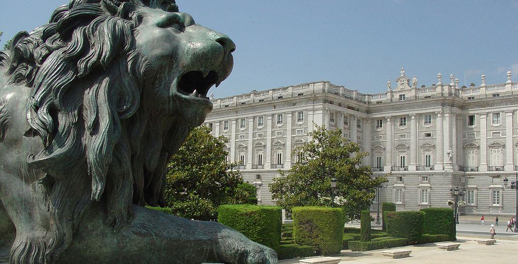 Ses monuments, ses places... - Quatro Puerta Del Sol 4* Madrid