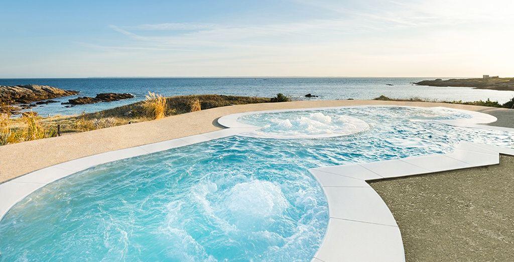 Avis sofitel quiberon thalassa sea spa 5 voyage priv for Piscine quiberon