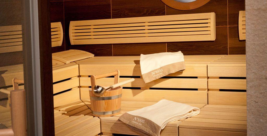 Offrez-vous une séance de sauna
