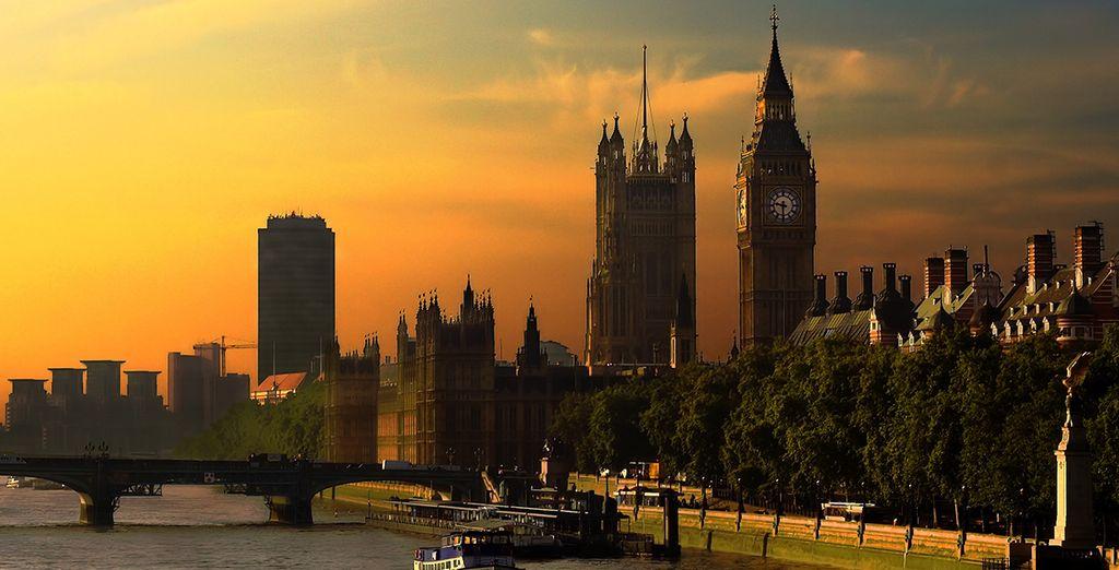 Vous serez idéalement situé pour visiter Londres, depuis le parlement...