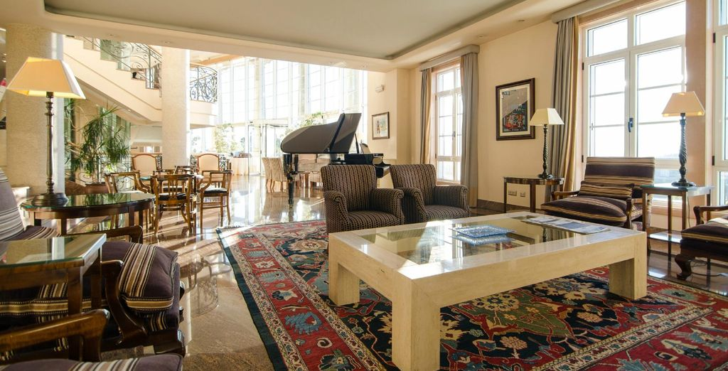 Vous séjournerez au Gran Hotel Los Abetos !
