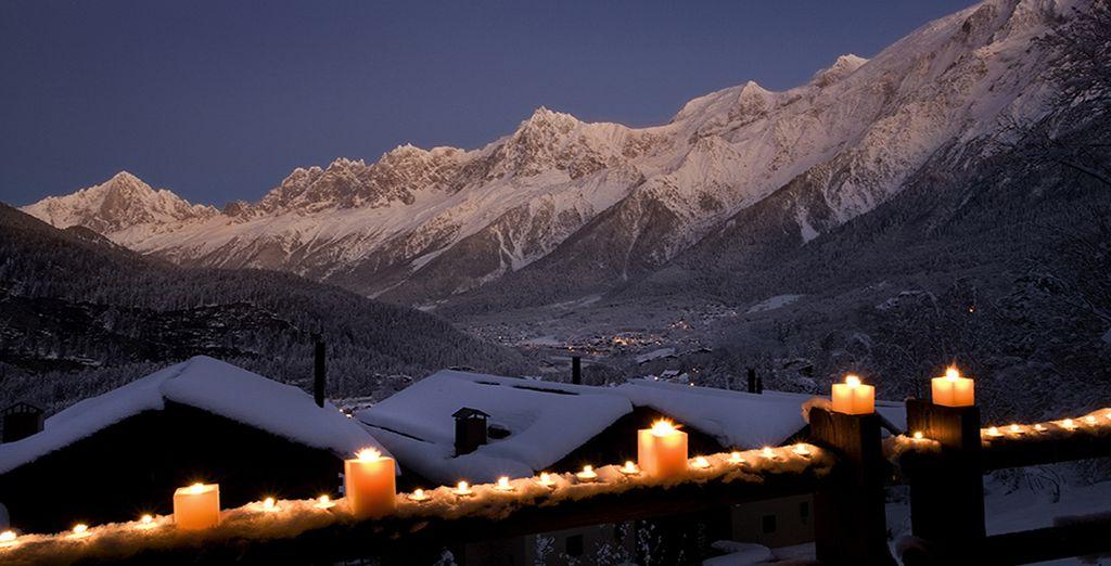 Et admirez les splendides couchers de soleil sur la montagne depuis la terrasse