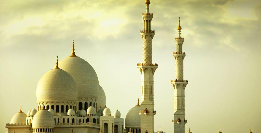 Puis vous mettrez le cap sur Abu Dhabi...