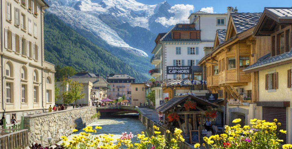 Et le joli village de Vallorcine !