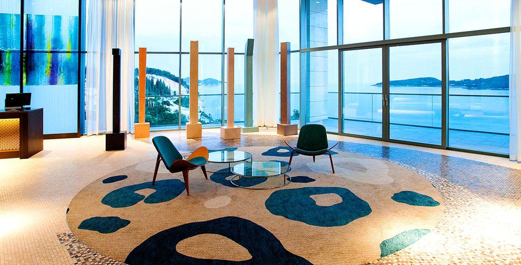 Et par la vue panoramique de l'hôtel Radisson Blu Resort & Spa Dubrovnik Sun Gardens - Radisson Blu Resort & Spa Dubrovnik Sun gardens 5* Dubrovnik