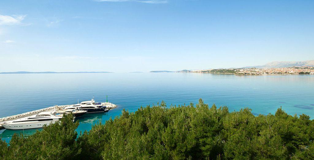 Et profitez-en également pour découvrir la côte Dalmate !