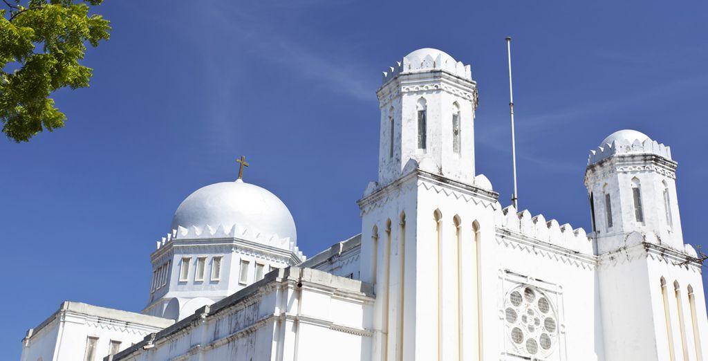 Sans oublier une demi-journée de découverte de la ville de Mombasa