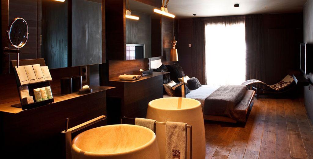 Chambre double tout confort et à proximité de toutes activités