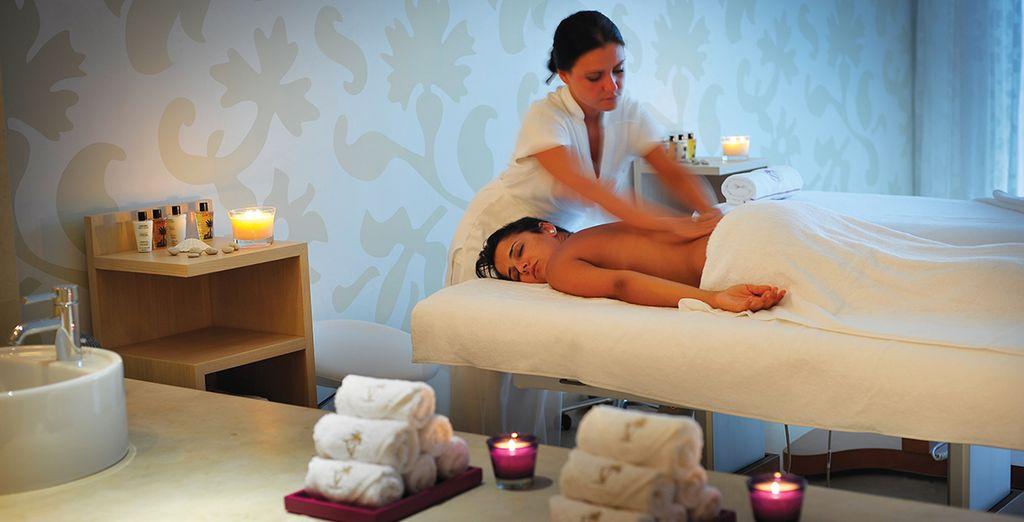 Et offrez-vous un soin ou un massage ressourçant...