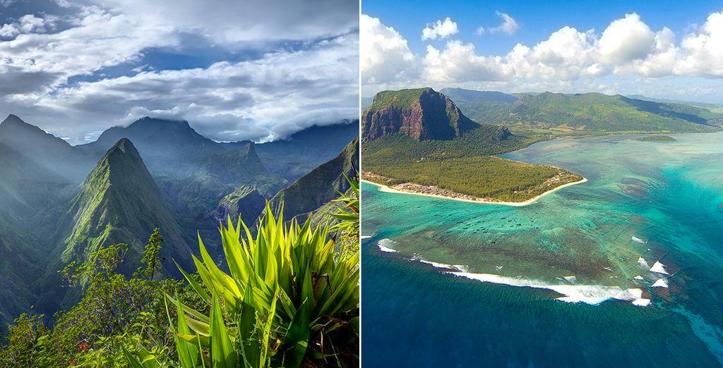 Combiné île de La Réunion &  île Maurice avec Voyage Privé