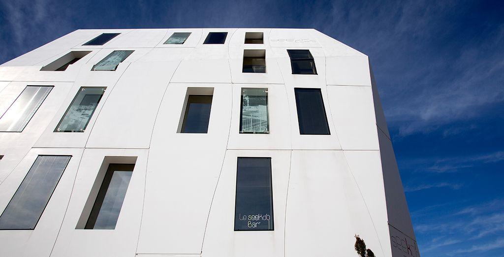 Et son architecture futuriste