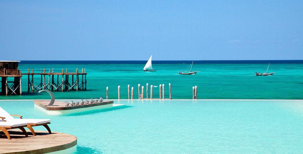 Dans une myriade de bleu... - Hôtel Essque Zalu 5* avec ou sans Stop Over à Oman Zanzibar