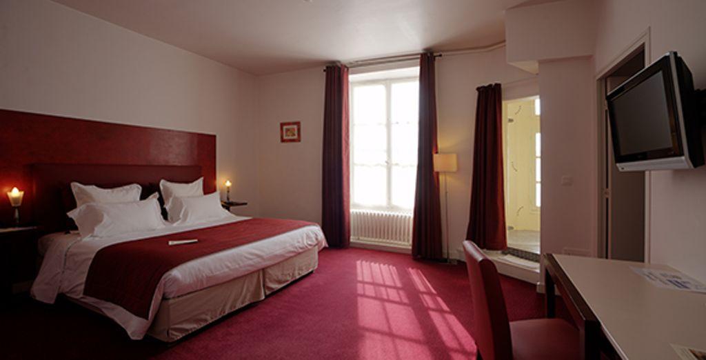 Un agréable séjour vous attend en chambre château