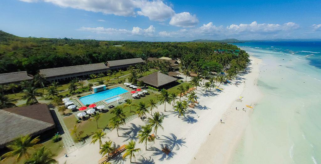 Hôtel de luxe en plein cœur des Philippines